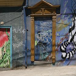 Doors in Valparaiso