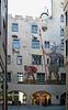 bemalte Fassade in Regensburg