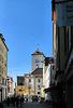 Blick auf das Rathaus in Regensburg