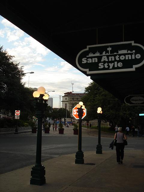 San Antonio style / Texas. USA - 29 juin 2010