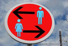 (WC) interdit aux femmes ou hommes !