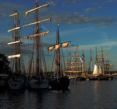 Windjammer in Kiel
