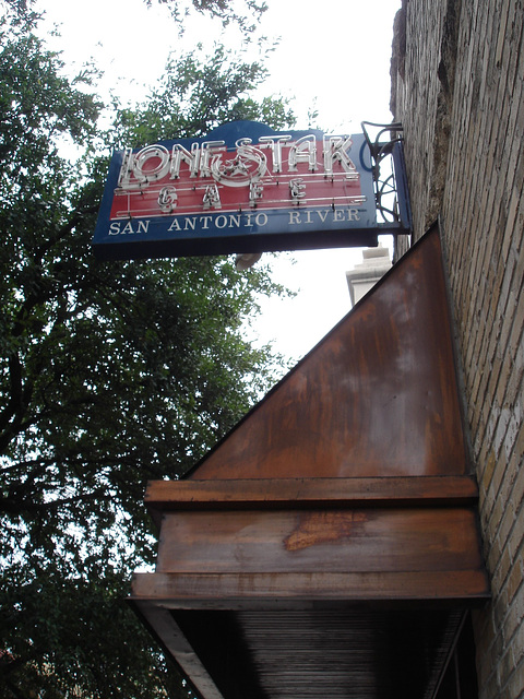 Lone star cafe / San Antonio, Texas. USA - 3 juillet 2010