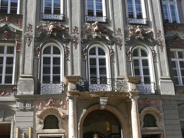 München - Hausfassade