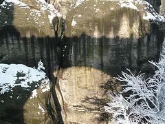 Bastei nach dem ersten Schnee 25.11.2010