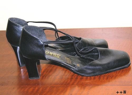 Zhaid 38 / Les belles chaussures de Lilette - Lilette's high heels shoes - 4 décembre 2008 - Photo originale.