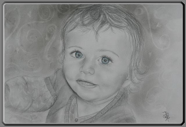 Pour faire le portrait d'un enfant...