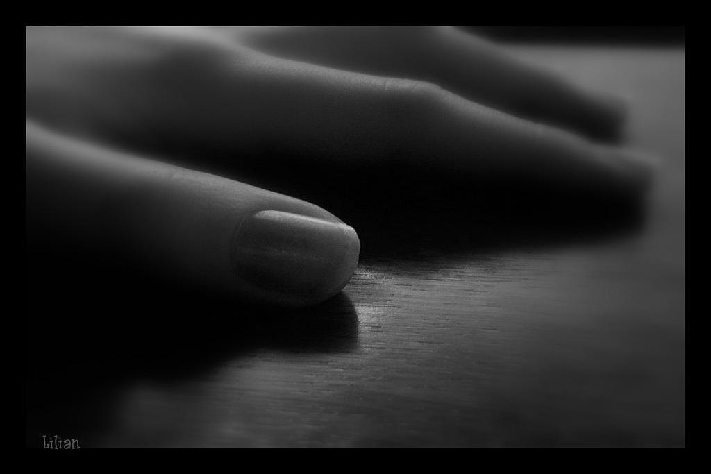 Main de Lilette / Lilette's hand.