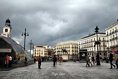 Madrid - Puerta del sol - HDR