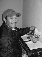 Primer positivo estenopeico- Adrián Caldera