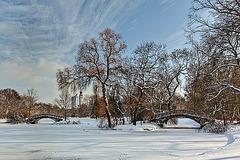 Brücken im Leipziger Johannapark