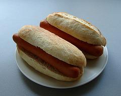 Hotdogbroodjes - (bijna perfect!? :-)))
