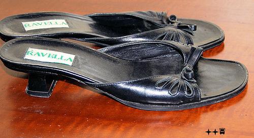 Talons hauts Ravellas à Lilette / Lilette's Ravellas high heels shoes. 4 décembre 2008.