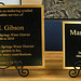 Mary M. Gibson Plaques (6217)