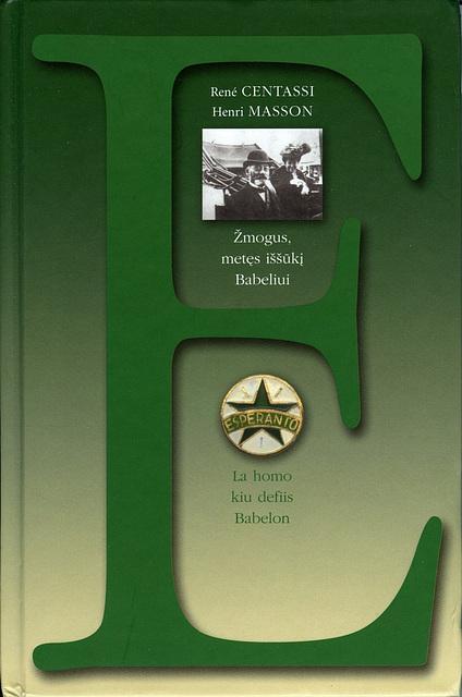 Biografio de Zamenhof en la litova / Biographie de Zamenhof en lituanien