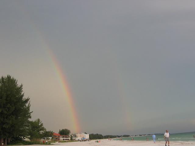 Double Rainbow ..