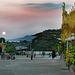 Sunset mood at the Pyi Daw Aye Pagoda