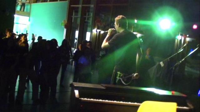 Platano [La Pafklik] koncerto dum JES 2011