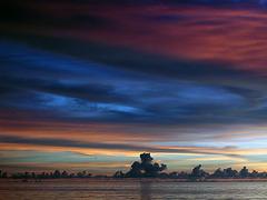 Cloud sculptures at the skyline