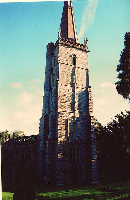 east brent , church tower c1470