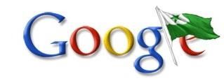 Google-emblemo kun Esperanto-flago 2009