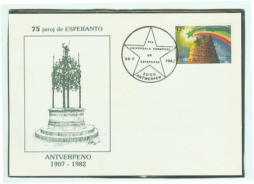 75 jaroj de Esperanto en Antverpeno