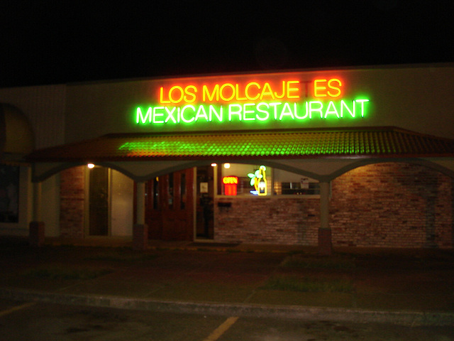 Los molcajetes mexican restaurant / Indianola, Mississippi. USA - 9 juillet 2010
