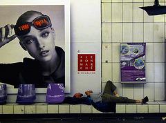 Paris 1 Metro Sleeper