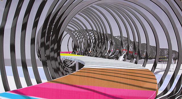 20110101 9174Aaw Architektur, Spiralbrücke