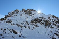 Auf dem Pordoipass (Dolomiten)