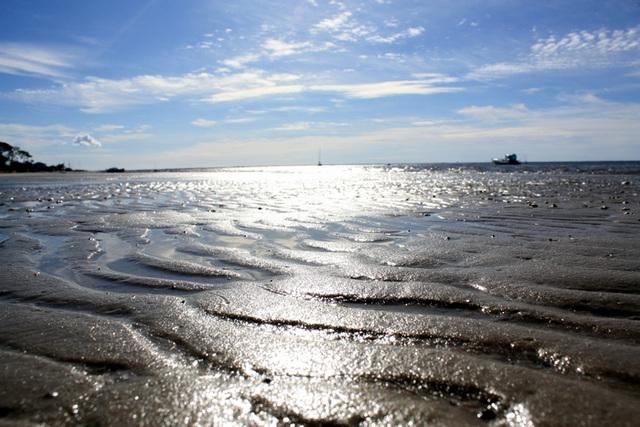 à sable