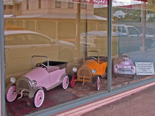 Toyshop window in Queenstown