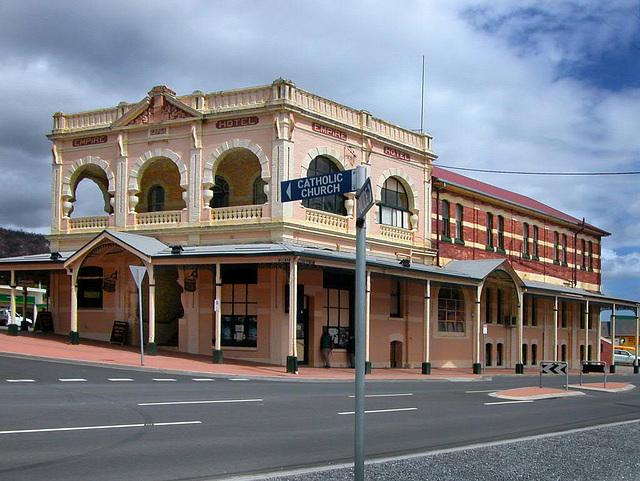 Empire Hotel in Queenstown
