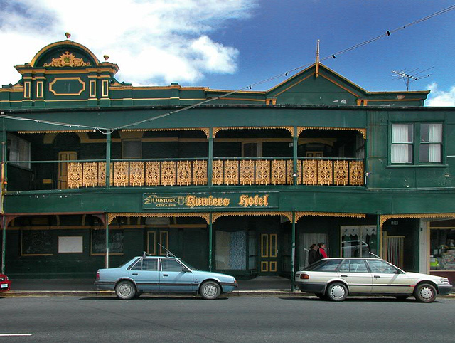Old hotel house in Queenstown