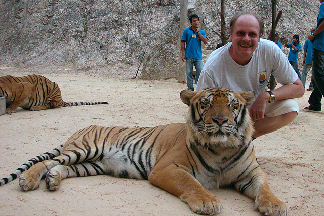 Inside the disputed Tiger Temple in Thailand