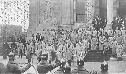 1902-11-28 Gorlico, Kaisereinweihung Ruhmeshalle