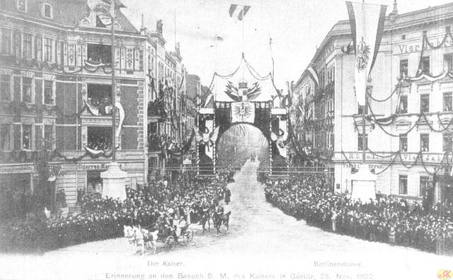 1902-11-28 Der Kaiser in Görlitz