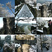 Die Bastei im ersten Schnee - 25.11.2010