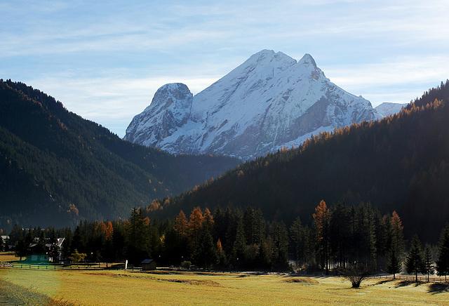 Richtung Canazei, Südtirol
