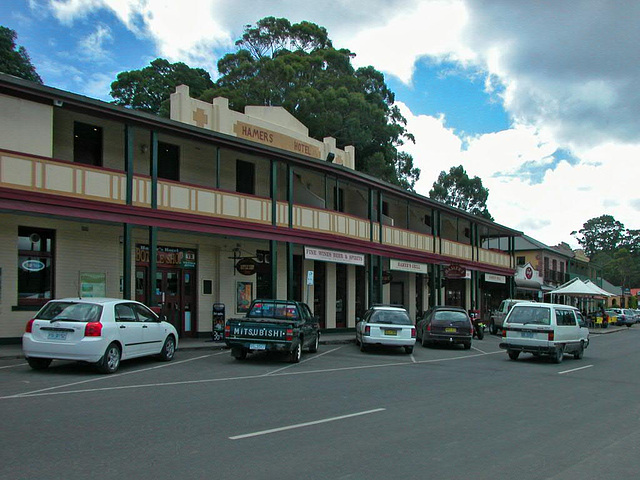 Strahan hotel house