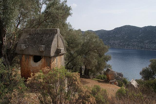 Simena Tombs