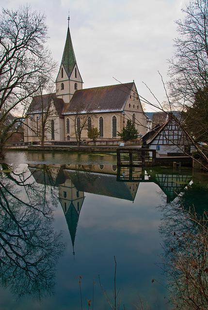 Blautopf mit Klosterkirche