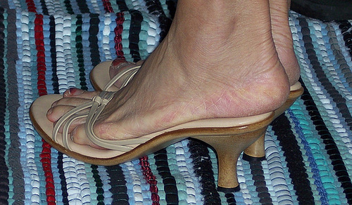 wife in slides
