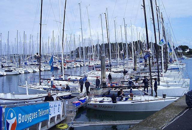 Bretagne, Hafen von Le Croisic