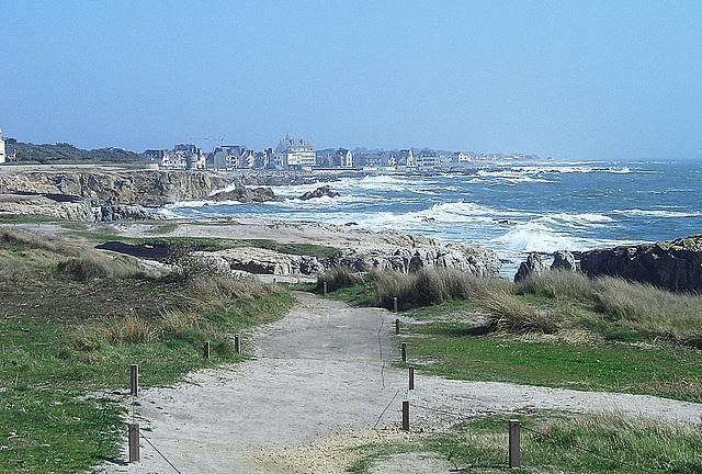 Bretagne, Piriac-s.- Mer