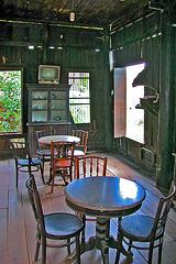 Inside an old Thai corner house
