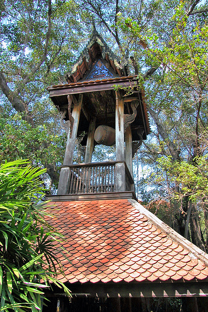 Drum tower in Ancient Siam