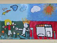 PICT13579ac Large School Walls Ornate by Young Childrens's Paintings