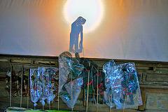 Nang Yai หนังใหญ่ (shadow puppet show)