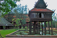 Wat Thung Si Muang วัดทุ่งศรีเมือง from Ubon Ratchathani and the Scripture Repository หอพระไตรปิฎก